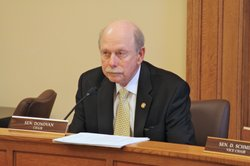 Sen. Les Donovan, R-Wichita, chairman of the Senate tax committee.