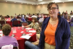 "Laura Silverberg of Topeka said she has been receiving Medicaid services for about 25 years. She was among about 225 people who attended informational sessions held Thursday in Topeka by Kansas Medicaid officials and spokesmen for the three KanCare managed care companies. ""I don't believe much of what they say until I see the proof of what they do,"" Silverberg said of the companies, which are scheduled to start running day-to-day operations of the state's Medicaid program on Jan. 1, pending federal approvals."