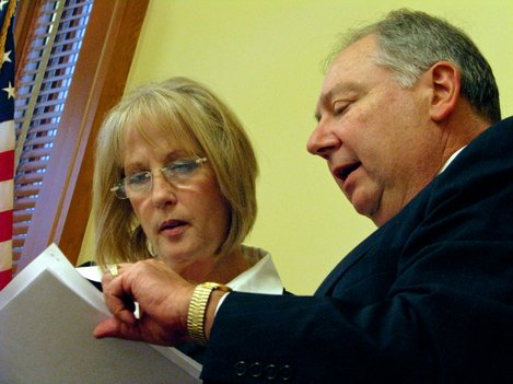 Sens. Mary Pilcher-Cook and Jim Denning, both Republicans from Johnson County, were among those who voted to recommend a bill that would impose new restrictions on ACA navigators.