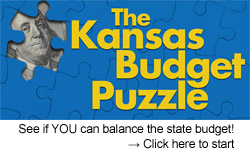 The Kansas Budget Puzzle -- Can YOU balance the state budget? Click here to try...
