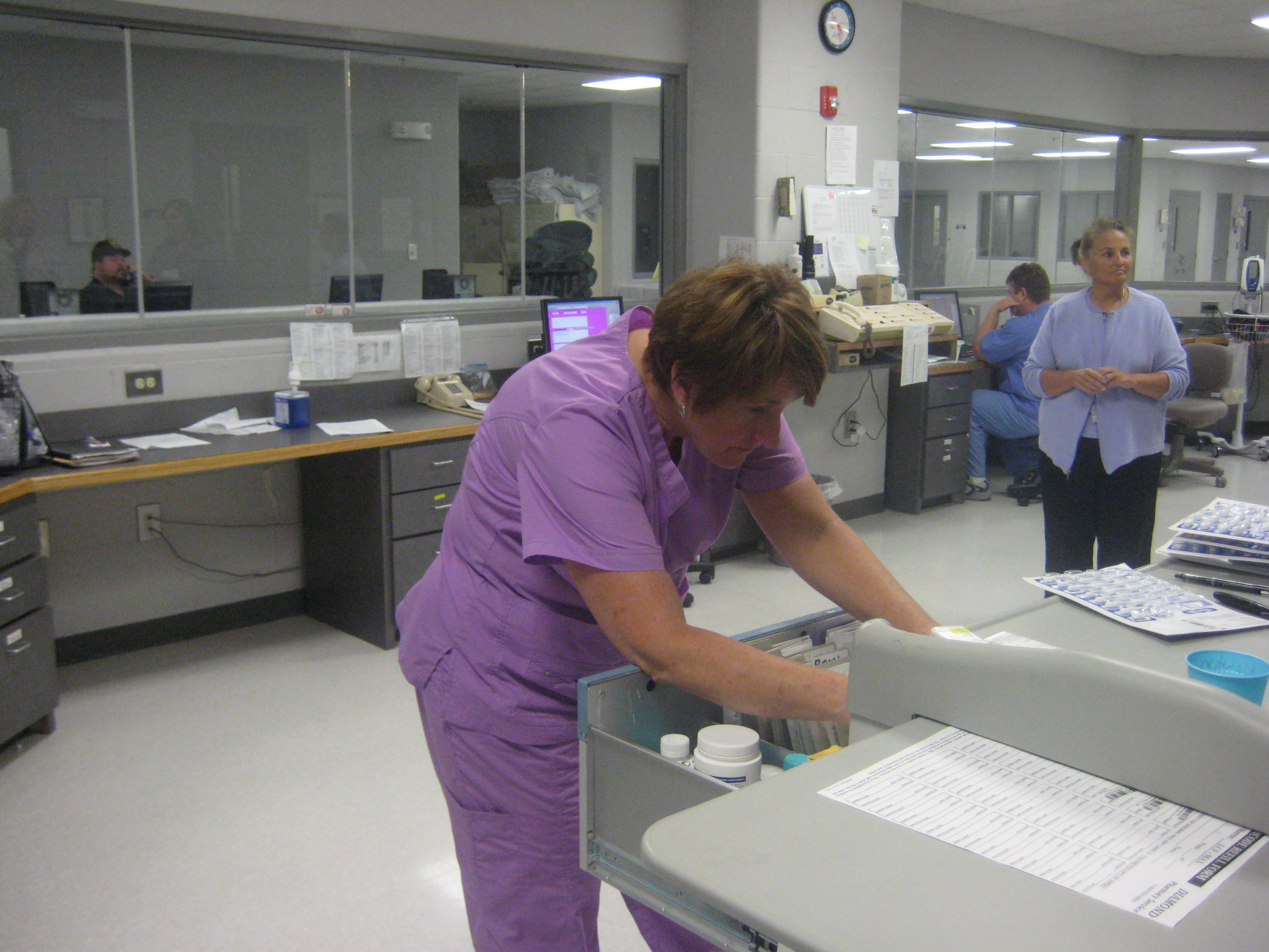 Lansing clinic part of state effort to control inmate health